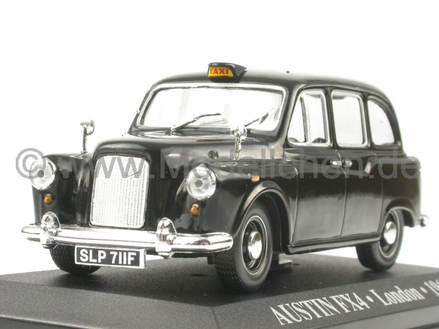 austin fx4 london taxi modellauto atlas 1 43. Black Bedroom Furniture Sets. Home Design Ideas