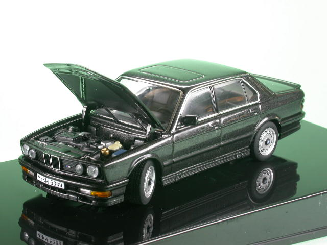 bmw e28 m 535i diamantblack diecast model car autoart 1 43. Black Bedroom Furniture Sets. Home Design Ideas