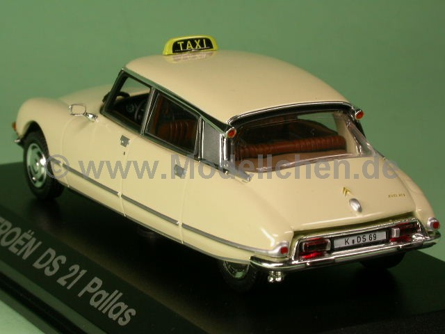 citroen ds 21 pallas taxi norev 1 43 modellauto. Black Bedroom Furniture Sets. Home Design Ideas