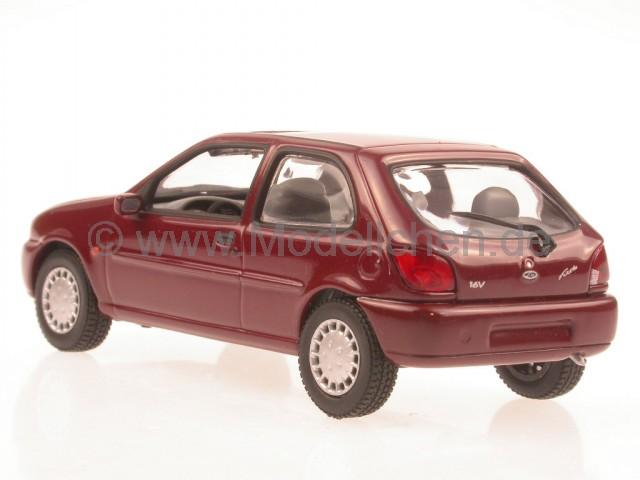 ford fiesta 1996 rot modellauto minichamps 1 43. Black Bedroom Furniture Sets. Home Design Ideas