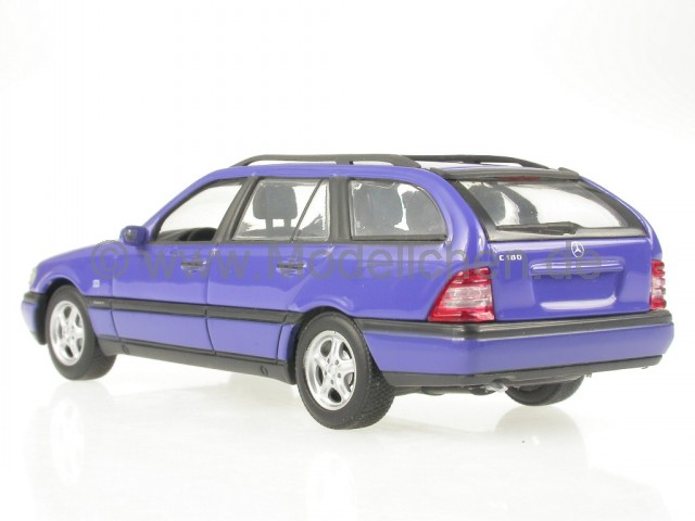 mercedes s202 c klasse t modell lapisblau modellauto. Black Bedroom Furniture Sets. Home Design Ideas