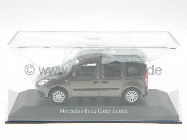 minichamps mercedes benz citan kombi braun modellauto. Black Bedroom Furniture Sets. Home Design Ideas