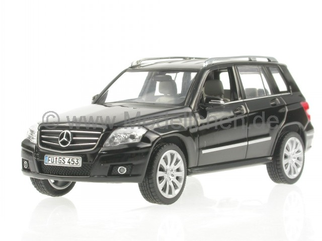 mercedes x204 glk schwarz modellauto schuco 1 43. Black Bedroom Furniture Sets. Home Design Ideas