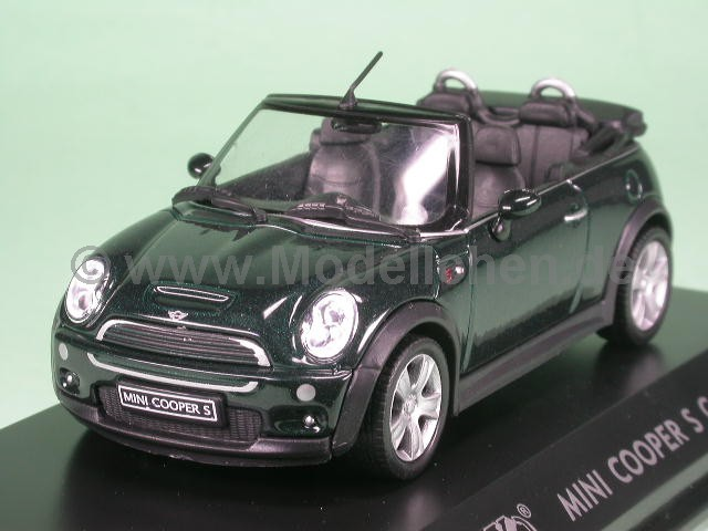 mini cooper s cabrio modellauto welly 1 43. Black Bedroom Furniture Sets. Home Design Ideas