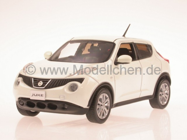 nissan juke 2010 weiss jc199 modellauto j collection 1 43. Black Bedroom Furniture Sets. Home Design Ideas