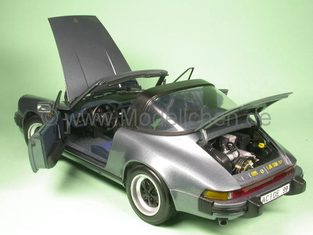 porsche 911 carrera targa 1983 braun modellauto 1 18 mc. Black Bedroom Furniture Sets. Home Design Ideas