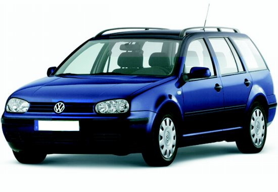 vw golf 4 variant blau modellauto welly 1 24. Black Bedroom Furniture Sets. Home Design Ideas