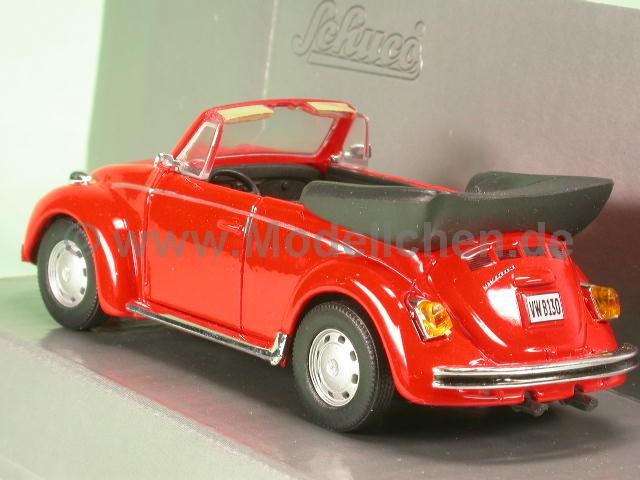 vw k fer cabrio rot modellauto schuco 1 43. Black Bedroom Furniture Sets. Home Design Ideas