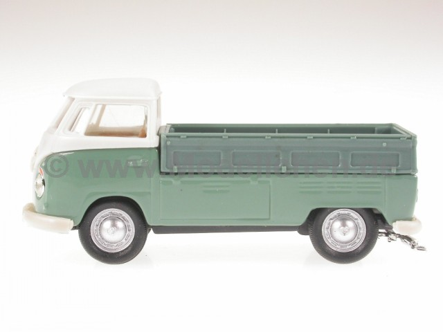 vw t1 pritsche grau bus bulli modellauto cararama 1 72. Black Bedroom Furniture Sets. Home Design Ideas