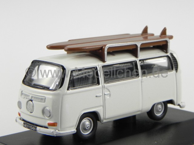 vw t2a bus kombi pastell weiss surf modelauto 76vw011. Black Bedroom Furniture Sets. Home Design Ideas