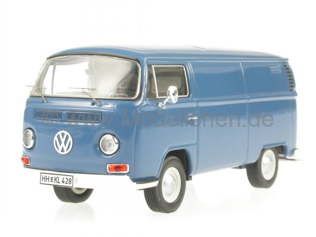 vw t2a t2 kasten blau bus bulli modellauto 11260 premium. Black Bedroom Furniture Sets. Home Design Ideas