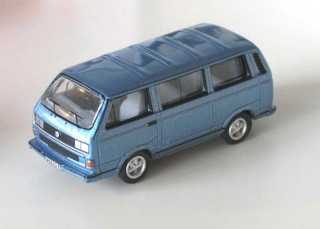 vw t3 bluestar whitestar redstar 3x bus in box modellauto. Black Bedroom Furniture Sets. Home Design Ideas