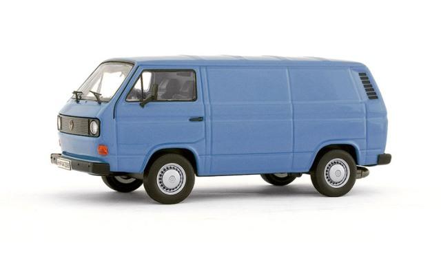 vw t3 kasten bus bulli blau modellauto 11401 premium. Black Bedroom Furniture Sets. Home Design Ideas
