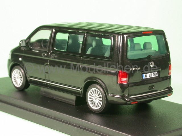vw t5 multivan bus bulli 2009 schwarz modellauto. Black Bedroom Furniture Sets. Home Design Ideas