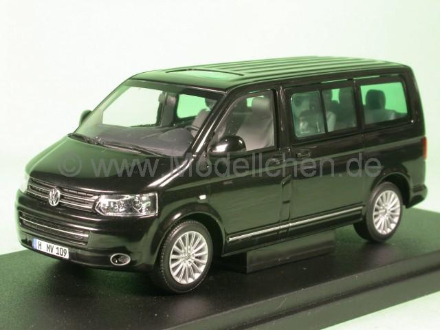 vw t5 multivan bus bulli 2009 schwarz modellauto. Black Bedroom Furniture Sets. Home Design Ideas