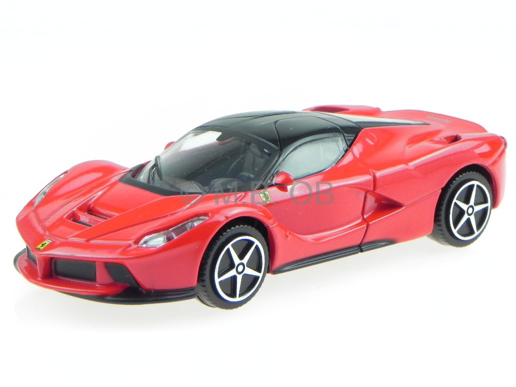 ferrari laferrari red modelcar 31137r bburago 1 43 ebay. Black Bedroom Furniture Sets. Home Design Ideas