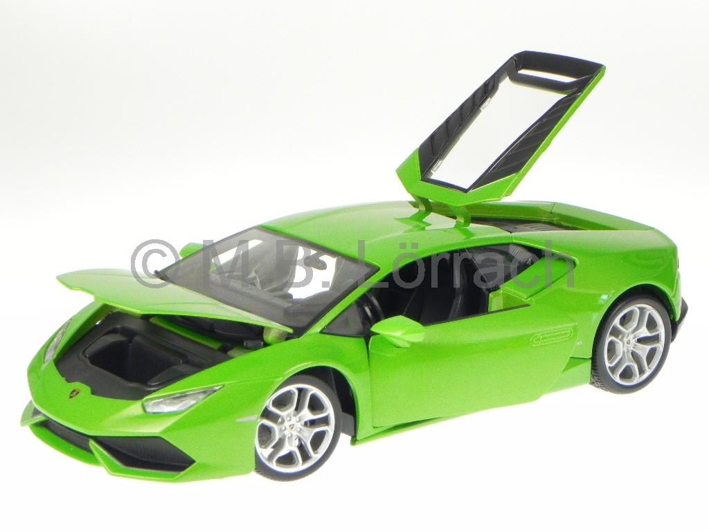 lamborghini huracan lp 610 4 green diecast model car 11038 bburago1 18 ebay. Black Bedroom Furniture Sets. Home Design Ideas