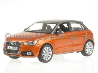 Audi A1 Sportback samoaorange (Dach grau) Modellauto Kyosho 1:43