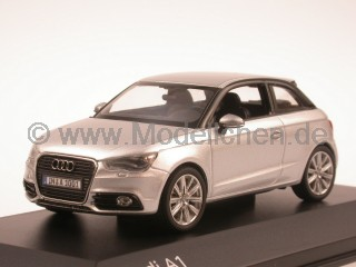Audi A1 eissilber Modellauto Kyosho 1:43