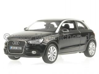 Audi A1 phantomschwarz Modellauto Kyosho 1:43
