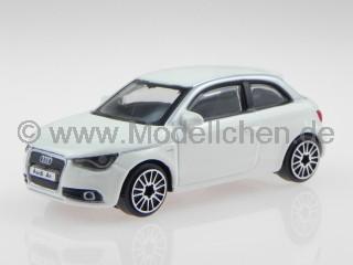 Audi A1 weiß Modellauto 30230 Bburago 1:43