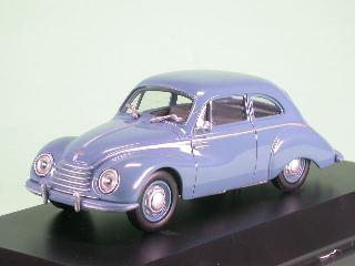 DKW 3gleich6 F91 blau Modellauto Schuco 1:43