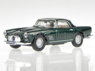 www.Modellchen.de - Maserati Mistral 1964 blau Modellauto Atlas 1:43