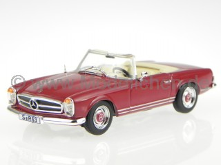 Mercedes W113 230 SL Pagode rot Modellauto Whitebox 1:43