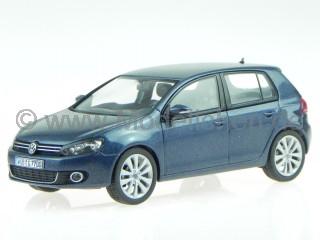 VW Golf 6 5-Türer blau Modellauto Schuco 1:43