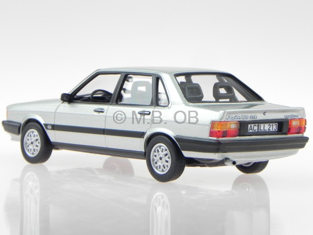 audi 80 b2 quattro 1982 silver modelcar 830028 norev 1 43. Black Bedroom Furniture Sets. Home Design Ideas