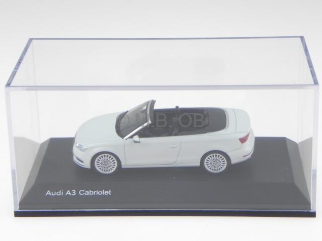 audi a3 cabriolet 2013 gletscher weiss modellauto herpa 1. Black Bedroom Furniture Sets. Home Design Ideas