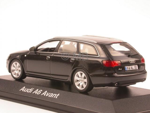 audi a6 c6 avant phantomschwarz modellauto minichamps 1 43. Black Bedroom Furniture Sets. Home Design Ideas