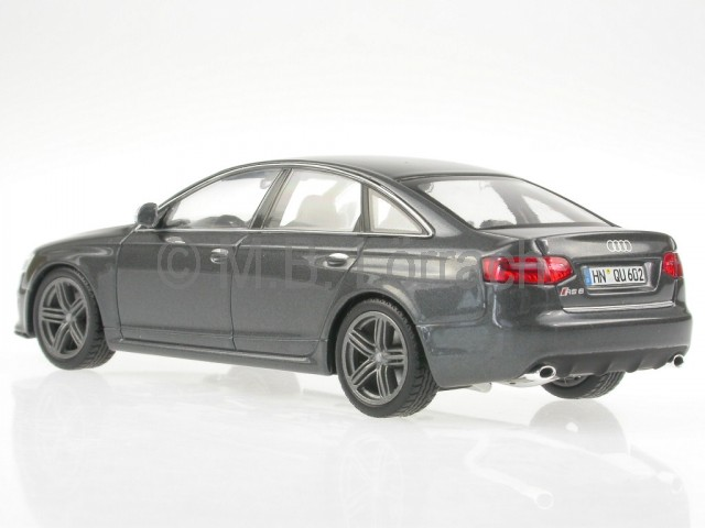 audi a6 c6 rs6 daytonagrau modellauto minichamps 1 43 ebay. Black Bedroom Furniture Sets. Home Design Ideas