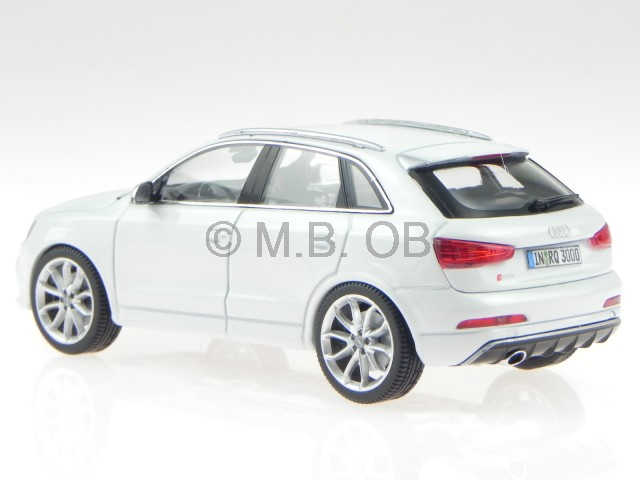 audi q3 rs white modelcar 450751100 schuco 1 43 ebay. Black Bedroom Furniture Sets. Home Design Ideas