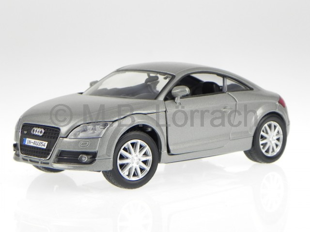 audi tt 8j coupe 2007 silber grau modellauto 73340. Black Bedroom Furniture Sets. Home Design Ideas