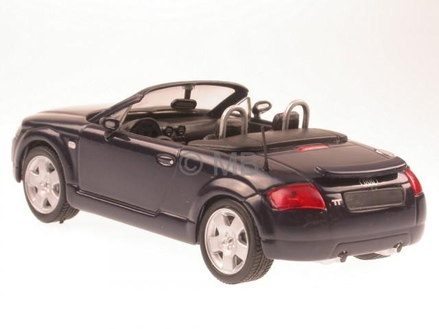 audi tt roadster 8n blau modellauto wemi 1 43. Black Bedroom Furniture Sets. Home Design Ideas