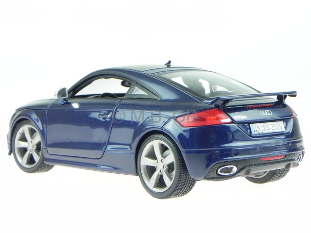 audi tt rs 8j blau modellauto 18 11031 bburago 1 18 ebay. Black Bedroom Furniture Sets. Home Design Ideas
