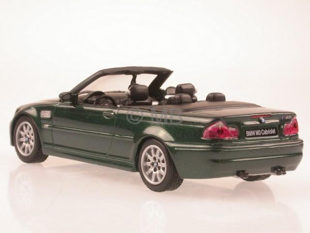 bmw e46 m3 convertible green diecast model car maxicar 1. Black Bedroom Furniture Sets. Home Design Ideas