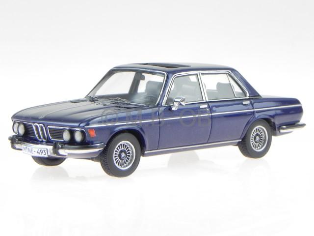 bmw e3 1969 dunkel blau metallic modellauto 43493 neo. Black Bedroom Furniture Sets. Home Design Ideas