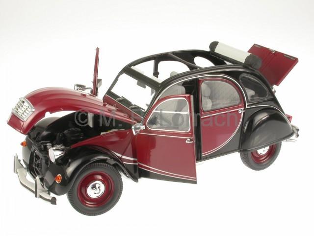 citroen 2cv charleston canard rouge voiture miniature 150111501 minichamps 1 18 ebay. Black Bedroom Furniture Sets. Home Design Ideas