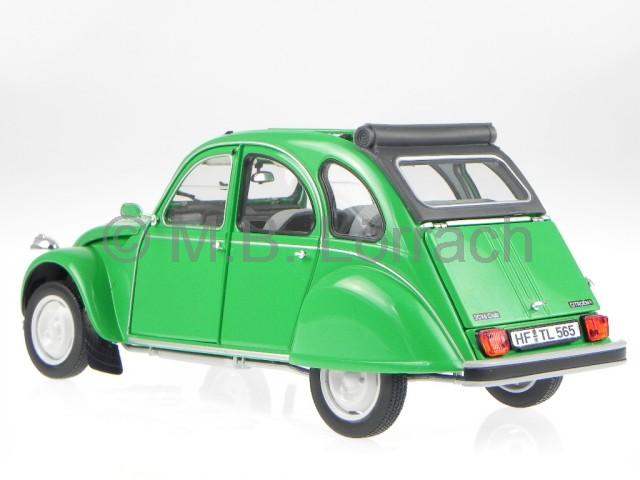 citroen 2cv ente gr uen diecast model car norev 1 18 ebay. Black Bedroom Furniture Sets. Home Design Ideas