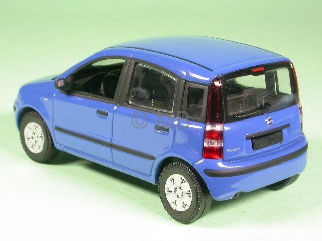 fiat panda 2005 blue diecast model car norev 1 43 ebay. Black Bedroom Furniture Sets. Home Design Ideas