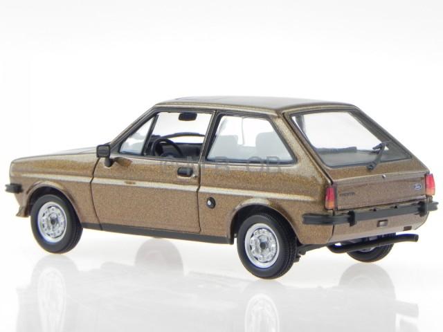 ford fiesta mk1 1976 braun met modellauto 940085101. Black Bedroom Furniture Sets. Home Design Ideas