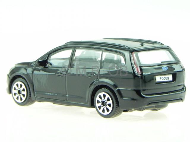 ford focus turnier schwarz modellauto 30226 bburago 1 43. Black Bedroom Furniture Sets. Home Design Ideas