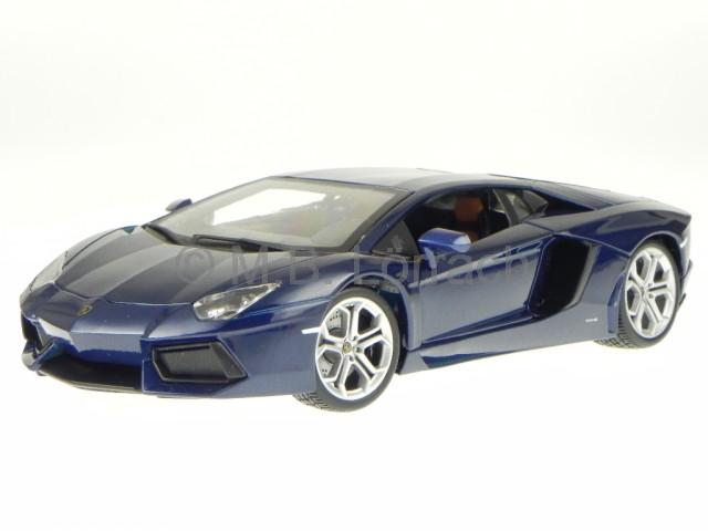 lamborghini aventador lp700 4 2011 blau modellauto 11033. Black Bedroom Furniture Sets. Home Design Ideas