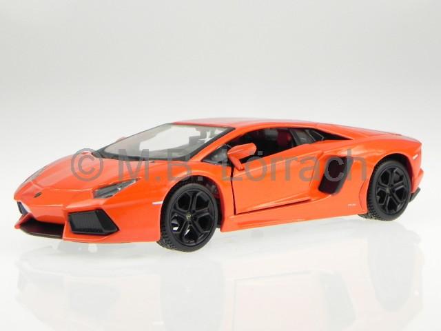 lamborghini aventador lp700 4 orange modellauto 31210. Black Bedroom Furniture Sets. Home Design Ideas