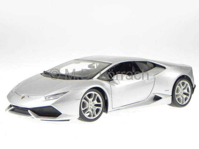 lamborghini huracan lp 610 4 silber modellauto 11038 bburago 1 18 ebay. Black Bedroom Furniture Sets. Home Design Ideas