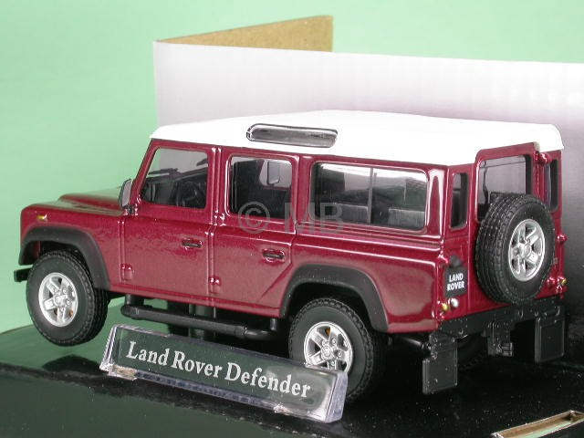 Land rover defender red diecast model car cararama 1 43 ebay - Land keuken model ...