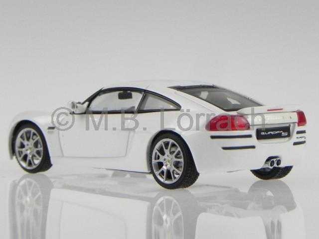 lotus europa s white diecast model car 55358 autoart 1 43. Black Bedroom Furniture Sets. Home Design Ideas