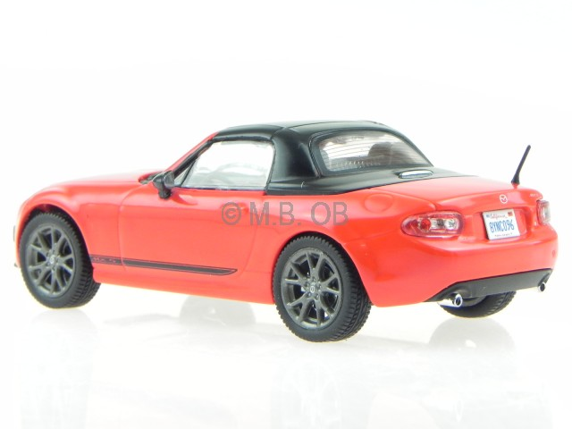 mazda mx 5 mx 5 mx5 2015 rot geschlossen modellauto t9 1. Black Bedroom Furniture Sets. Home Design Ideas
